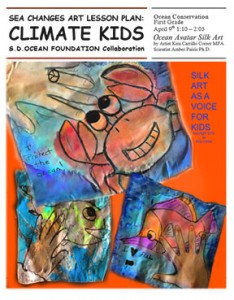 Sea Changes Climate Kids Lesson Plan COVER